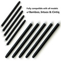 30 Packs / lot Graphic Drawing Pad Standard Black Pen Nibs Replacement Stylus for Wacom Bamboo Intuos Cintiq Drawing Pad Pen