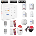 433MHz Stable and Reliable Kerui G18 Android App iOS App  house security system gsm alarm system