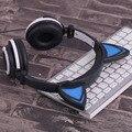 LX-Y05 Criativo Home Office Use Projeto Pessoal Luminescência Dobrável Super Fones de Ouvido Estéreo Fones de Ouvido do Gato