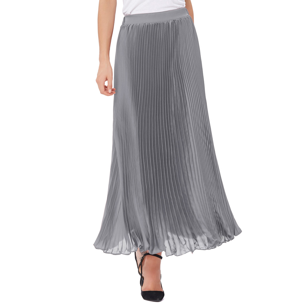 Compare Prices on Grey Chiffon Skirt- Online Shopping/Buy Low ...