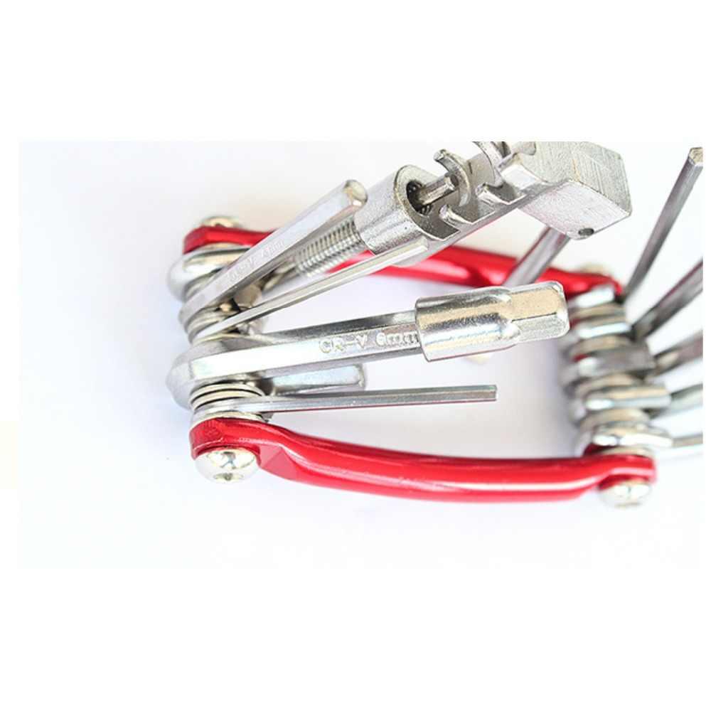 Высокое качество 11 в 1 велосипед многофункциональный инструмент для ремонта велосипеда комплект шестигранной Говорил Велоспорт отвертка инструмент ключ Горный наборы инструментов