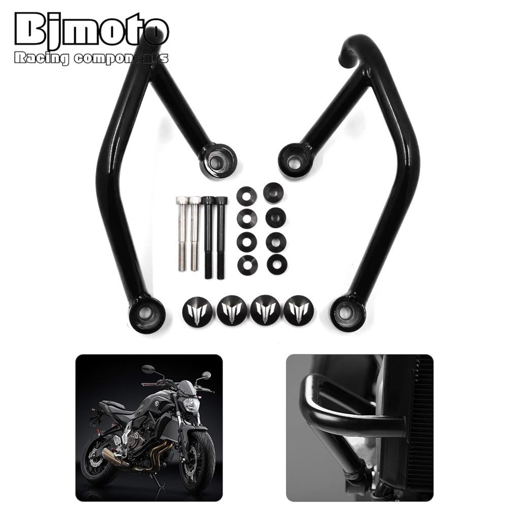 Bjmoto Motorcycle Engine Crash Bars Protection For Yamaha MT09 FZ09 MT-09 FZ-09 2013 2014 2015 2016 Motor Frame Guard motorcycle engine cover protection case for mt 09 mt09 fz 09 fz09 2013 2017