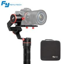 Feiyu A1000 3-Axis Gimbal Estabilizador DSLR Camera aperto de mão Dupla para a6300 a6500 iPhone Canon 5D/SONY Panasonic 2000g
