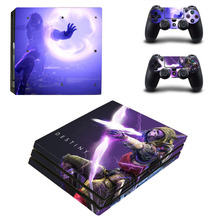 Destiny 2 PS4 Pro Skin Sticker Sony PlayStation 4 Pro Console and Controllers for Dualshock 4 PS4 Pro Stickers Decal