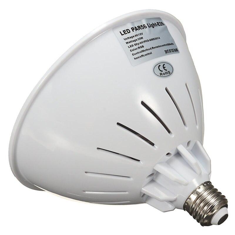 Éclairage extérieur LED Piscine Lumières Spot Lampe 35 W 12 V IP68 Verser Éclairage Sous-Marin Éclairage Étang lumière Piscine Accessoires - 4