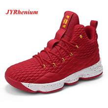 36-46 High-top Men Basketball Shoes Women Cushioning Breathable Basketball Sneakers Anti-skid Athletic Sports Man Lebron Shoes new men s basketball shoes breathable wear resisting formotion athletic shoes high quality sports shoes bs0088