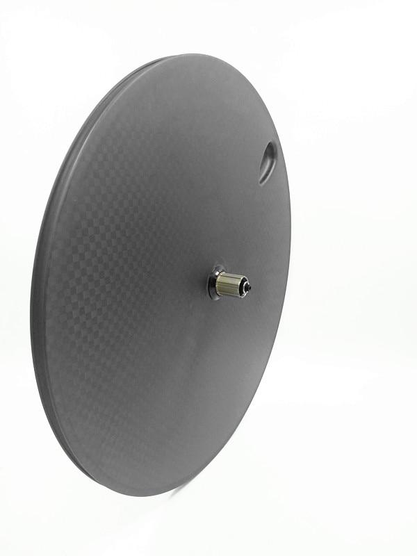 Roue à disque en carbone IPLAY 700c roues à disque en carbone 23mm roue à disque en fiber de carbone