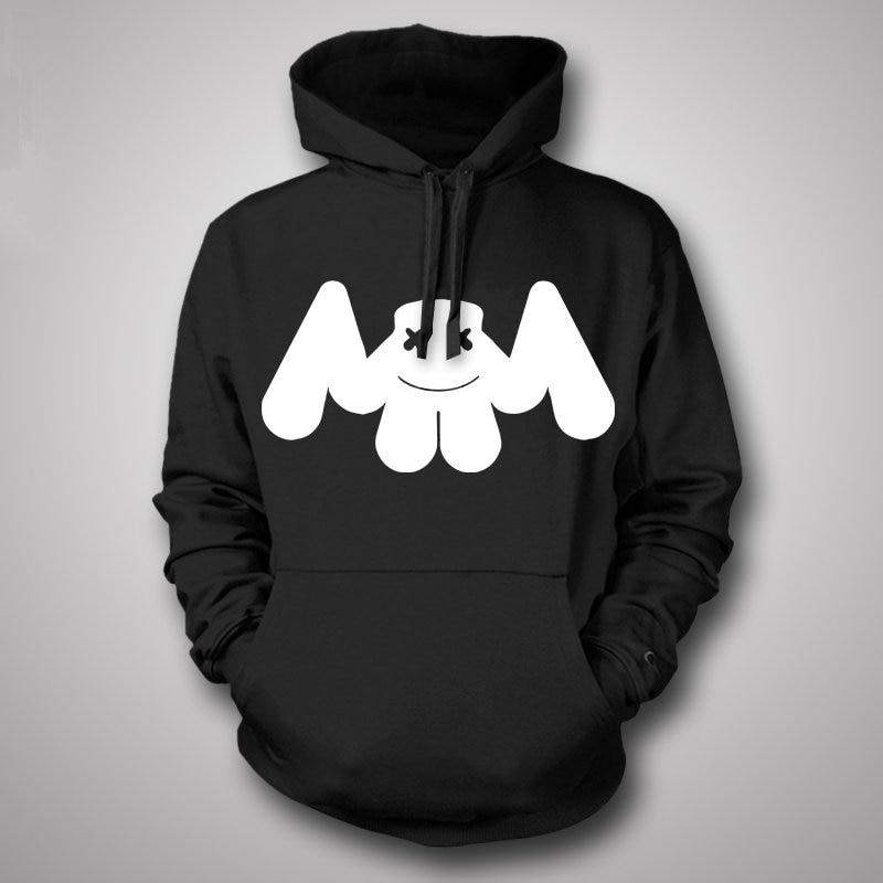 2017 new hoodies autumn and winter Marshmello sweatshirts men 100 DJ electric clothes Skrillex hoodie sweatshirt