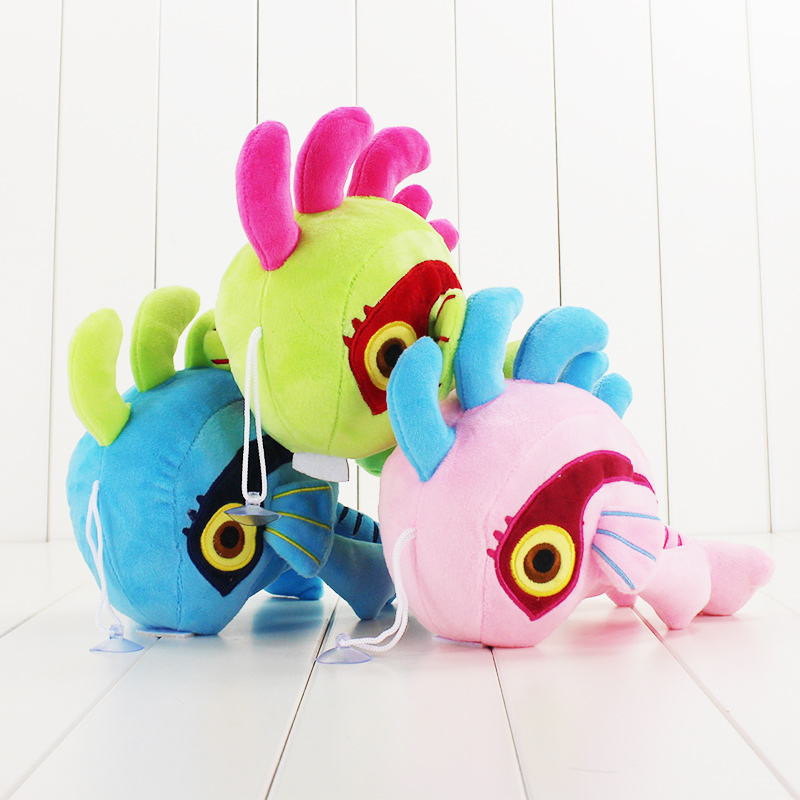 3Style 26cm High Quality Murloc Plush Dolls Lovely Fish   Stuffed Toy Animal Soft Figures For Baby Gift 3Colors