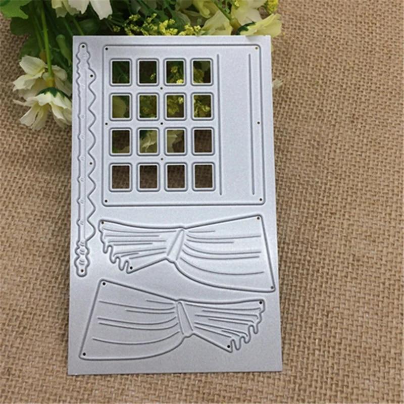 68x96 mm Window Frame Metal Cutting Dies Stencils for Scrapbooking Embossing Die Paper Cards Making Album Decorative New 2019