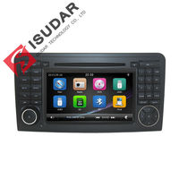 Two Din 7 Inch Car DVD Player For Mercedes Benz GL ML CLASS W164 X164 ML350