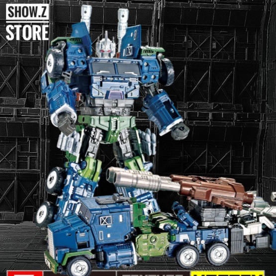 [Show.Z Store] Yuexing Combaticons Onslaught(MBD Bruticus Compatible) Combaticons Diecast Warbotron Transformation Action Figure managing the store