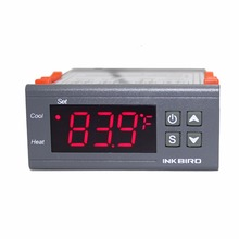 Inkbird תרמוסטט טמפרטורת בקר רגולטור מזג אוויר תחנת thermoregulator טמפרטורה חיישן דיגיטלי מדחום מד
