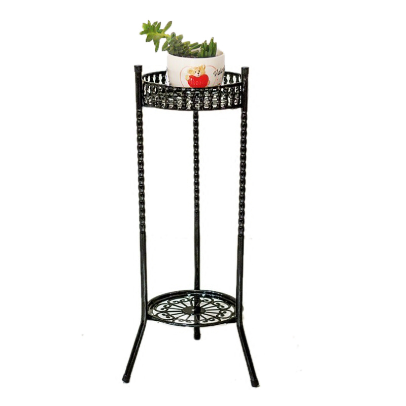 Scaffali In Metallo A Ripiani Decor Balcony Shelves Saksisi Planten Standaard Balcon Shelf Balkon Plant Stand Flower Iron Rack in Plant Shelves from Furniture