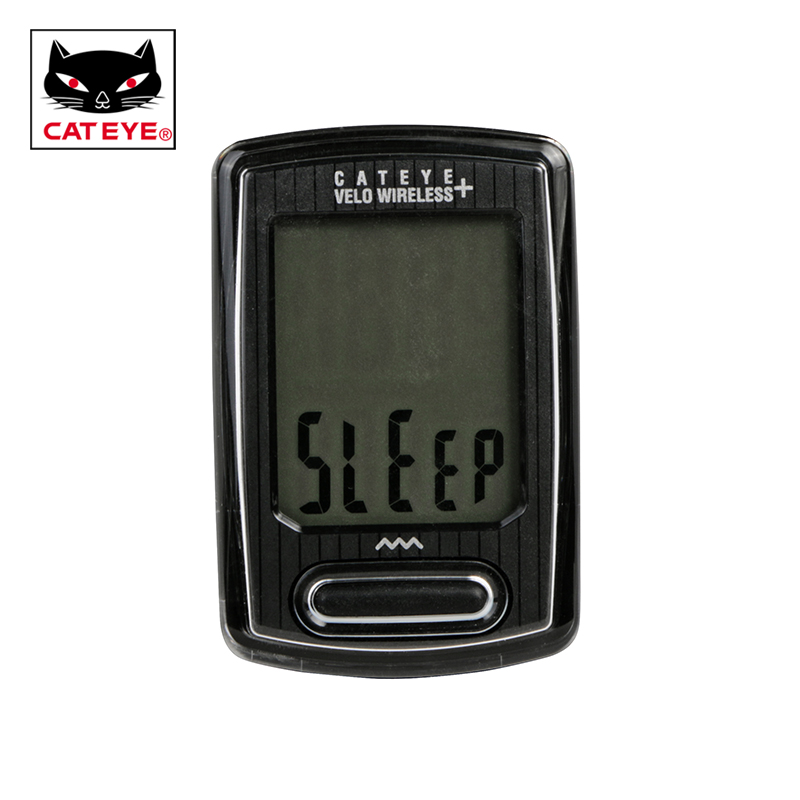 CATEYE Bicycle Bike Computer CC-VT235W Velo Wireless+ Large LCD Cycling Waterproof Wireless Stopwatch Bicycle Speedometer 2Color