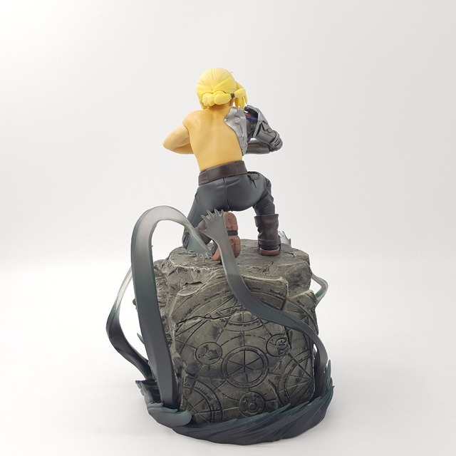 Fullmetal Alchemist Edward Elric Mustang PVC Action Figure Collection Model Toy Anime Fullmetal Alchemist Edward Figurine Toys