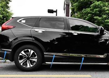 f871405c36ed ABS cromo lado puerta cuerpo de recorte cubierta 6 piezas para Honda CRV CR- V 2017 de 2018