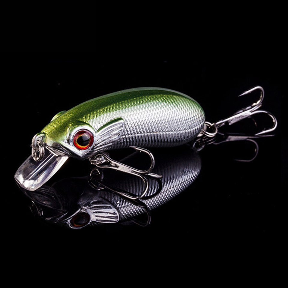 1PCS 6.7g 4cm crankbait Fishing lures plastic hard crank bait artificial lure Perch fish pesca hooks tackle japan wobbler new 12pcs 7 5cm 5 6g fishing lure minnow hard bait sea fishing tackle crankbait fishing kit jig wobbler lures bait with hooks