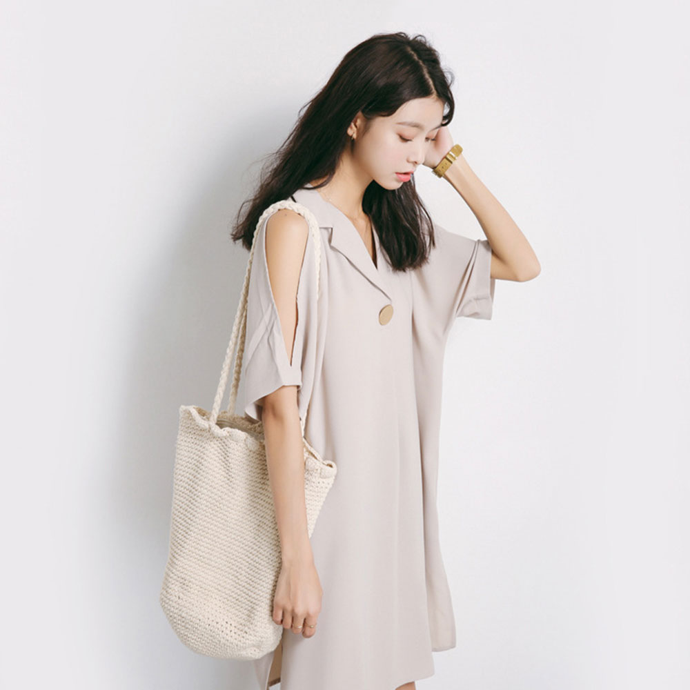 DENEGY Γυναικεία φόρεμα σιφόν 2018 φόρεμα - Γυναικείος ρουχισμός - Φωτογραφία 5