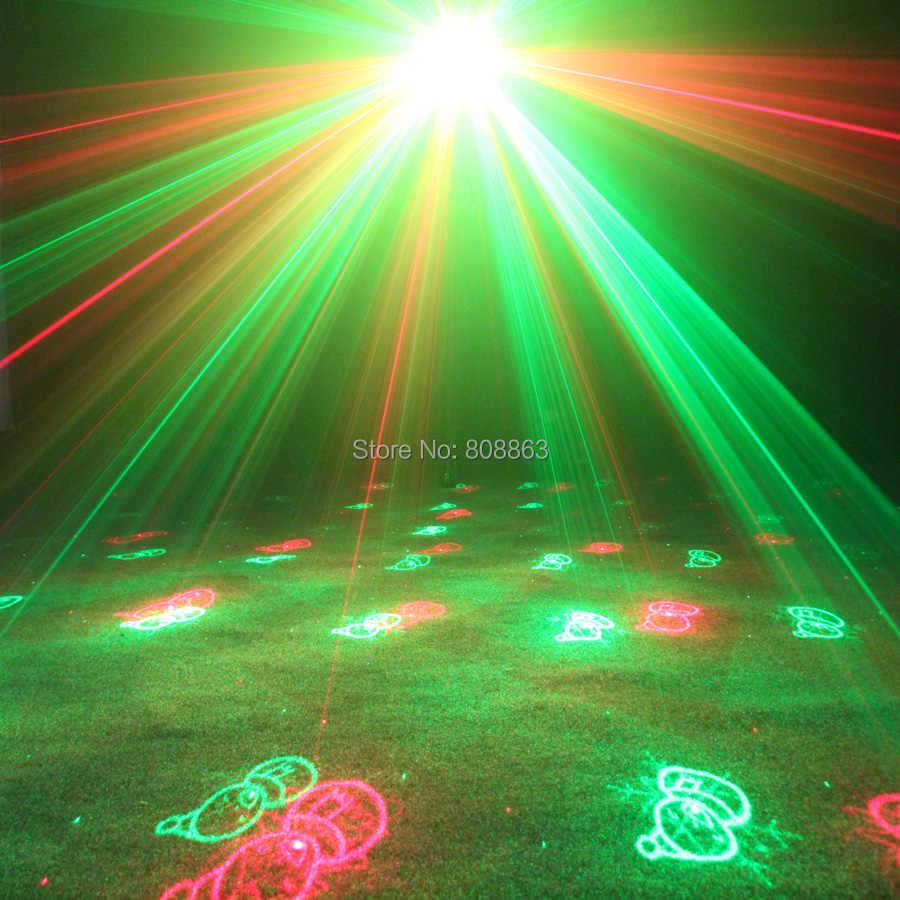 ESHINY Новое поступление мини R & G Лазерный 3 моделей Xmas проектор танец диско-бар Семья вечерние Рождество сценический эффект света show N8P3X