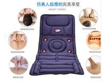 Electric Full body Multifunctional Massage Mattress Vibration Massage Device Massage Cushion Infrared Full Body Massager