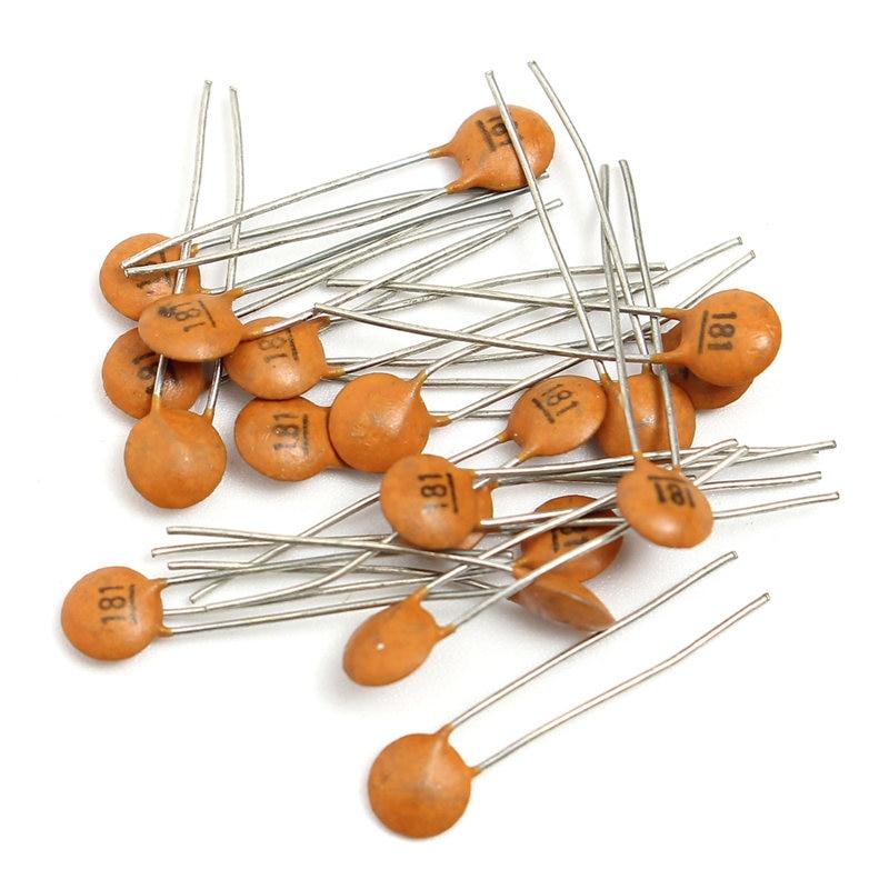Nouveauté 1000 pièces 4mm x 3mm 50 Valeurs 50 V Condensateur Céramique kit Assorti Assortiment Ensemble 1pf ~ 100nf 4X3mm condensateurs Fixes