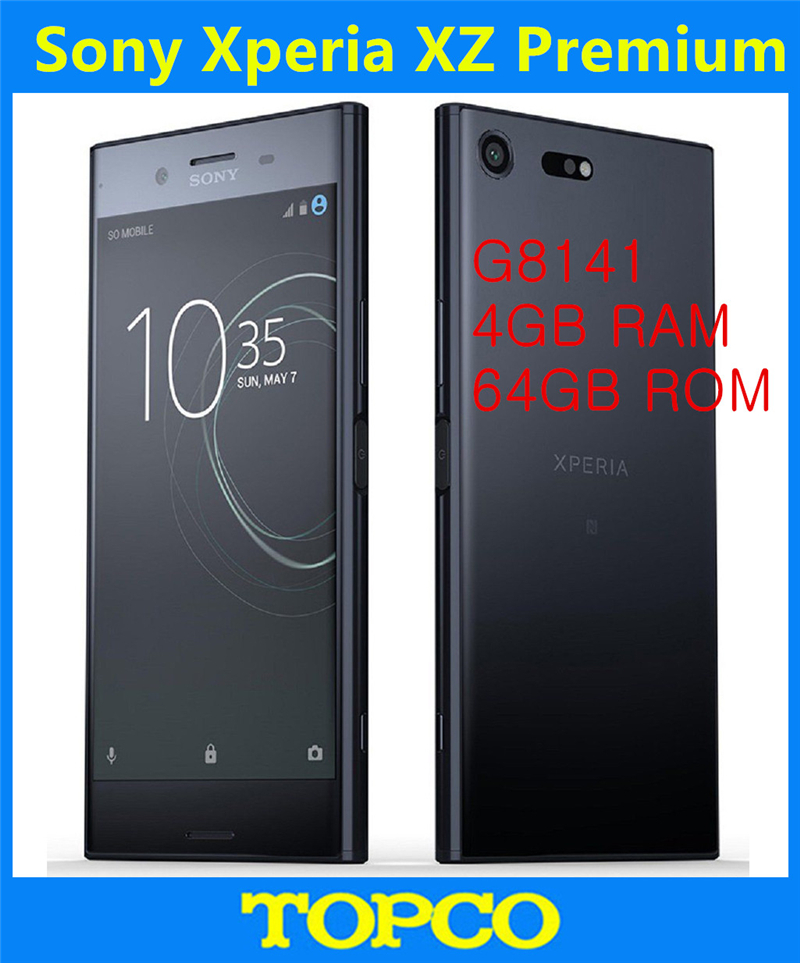 Sony Xperia XZ Premium G8141 Original Unlocked GSM 3G&4G Android Mobile Phone Octa Core 5.46