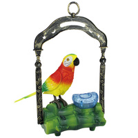 EFHH Pretty Funny Induction Sound Voice Control Activate Toy Gift Flashing Bird Anti Stress Fun Toys