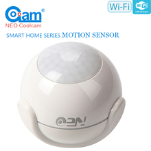 NEO COOLCAM Mini Wireless Smart Wi-Fi Water Sensor, Flood and Leak Detector No Expensive Hub Required, Simple Plug & Play