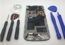 Ограниченное предложение Для Samsung Galaxy S4 S4 Mini i9190 i9192 i9195 ЖК-дисплей Дисплей + Сенсорный экран сборки + Рамки + Инструменты