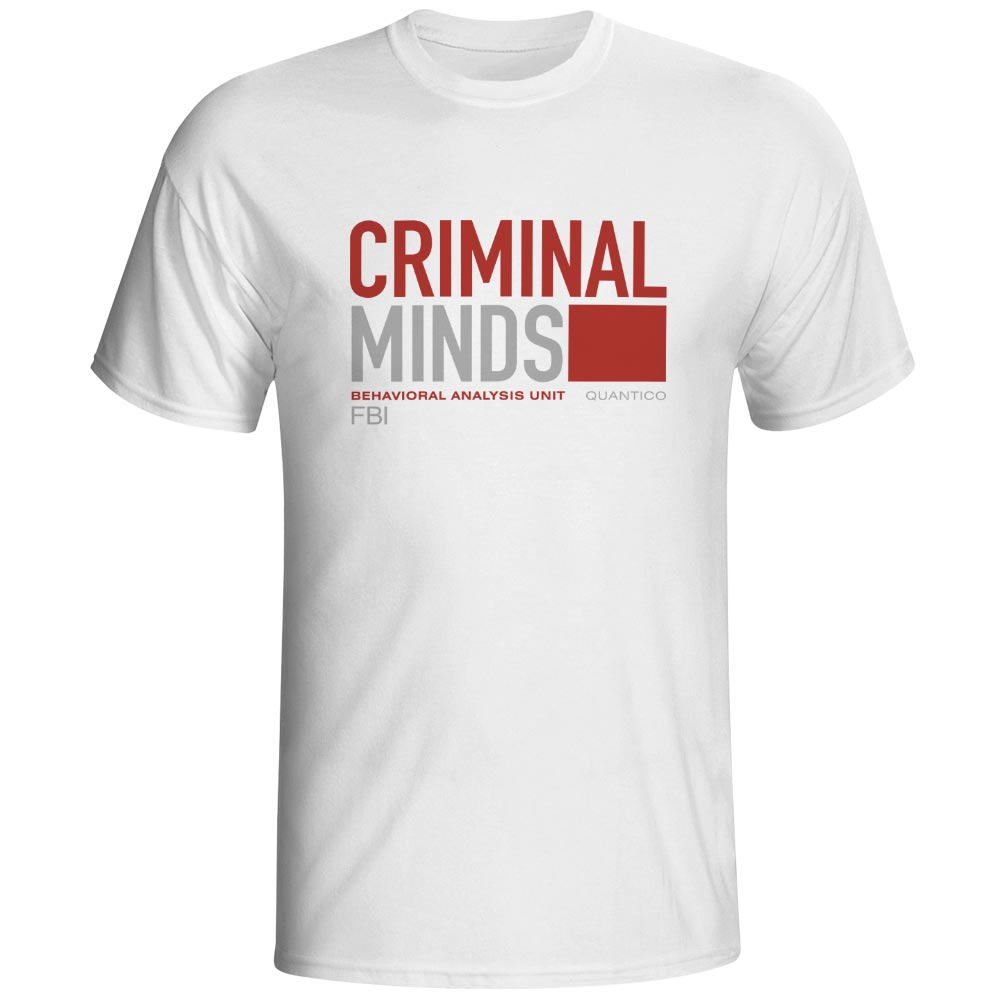 Criminal Minds Behavioral Analysis Design Logo Funny T