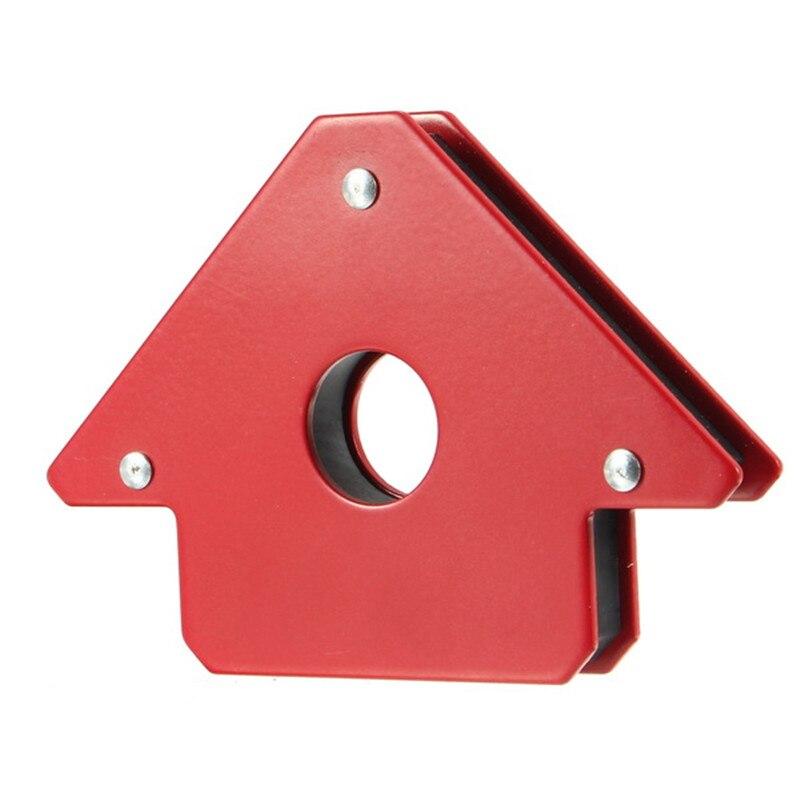 DSHA 25LB Magnetische Schweißen Halter Pfeil Form für Mehrere Winkel Hält Bis zu für Löten Montage Schweißen Rohre Installation