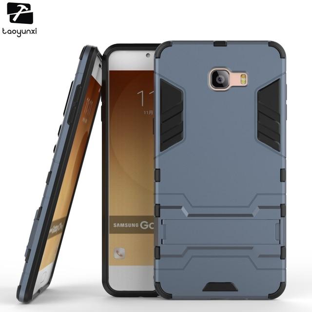 TAOYUNXI Phone Cases For Samsung Galaxy C9 Pro C9000 SM-C9000 /C5 Pro C5010/C7 Pro C7010 Hybrid Housing Bag Cover Armor Cover