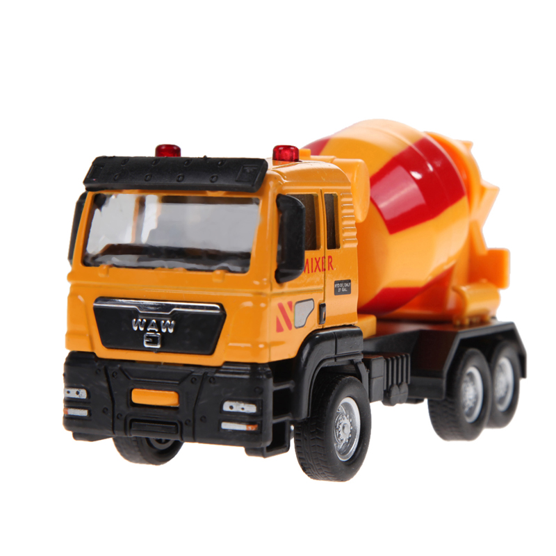 Kids Car Toy 1:55 Mini Sliding Alloy/Plastic Car Truck Model Birthday Gifts Children Toys Fire Engine With Original Package