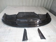 Front Lip Front Bumper Diffuser Fit For 2010 2014 Impreza WRX STI GVB