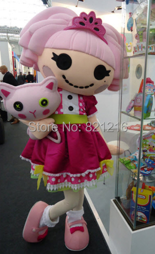 Lalaloopsy Jewels Sparkles Mascot Costume Custom Fancy Costume Anime Cosplay Mascotte Fancy Dress Carnival Costume