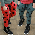 Free shipping!Hot sale 2015 Spring and autumn child clothes,baby girls and boys trousers,Casual,Star,Children's harem pants