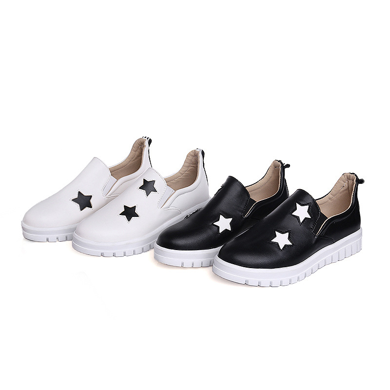 Negro Zapatos Casual 1831 43 Tamaño Primavera 40 Plano Años 18 blanco Viento Deportivo De Estudiante Fondo Gran Nueva qZRwSwax61