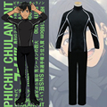 New Arrival Anime YURI on ICE Victor Nikiforov Sport Suit Uniform Cosplay Costume Full Set Sportswear ( Jacket + Pants )