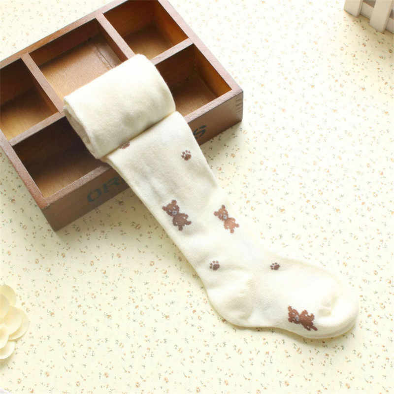 ... 2018 Spring The New Fashion Girls Tights kids Cotton Wool Pantyhose  Stocking Girls Flower Tight Warm ...