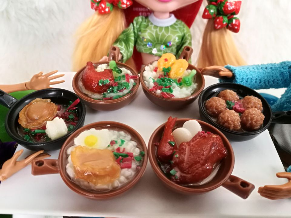 4pcs Simulation Of Food Casserol For Blyth 1/6 Doll Accessories Photography Props 30cm Doll Blyth Doll Accessory For Barbie