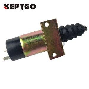 Image 2 - 24V Fuel Stop Solenoid 366 07198 1502 24 SA 3405 24 For Lister Petter Diesel Engine