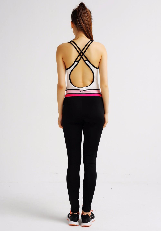 Elasticity Fitness backless Jumpsuit, Sexy Bodysuit Fashion Bandage 8