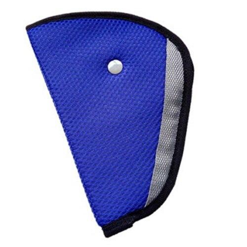 Children Kid Car Safety Harness Adjuster Seat Belt Seatbelt Strap Clip Cover Pad blue