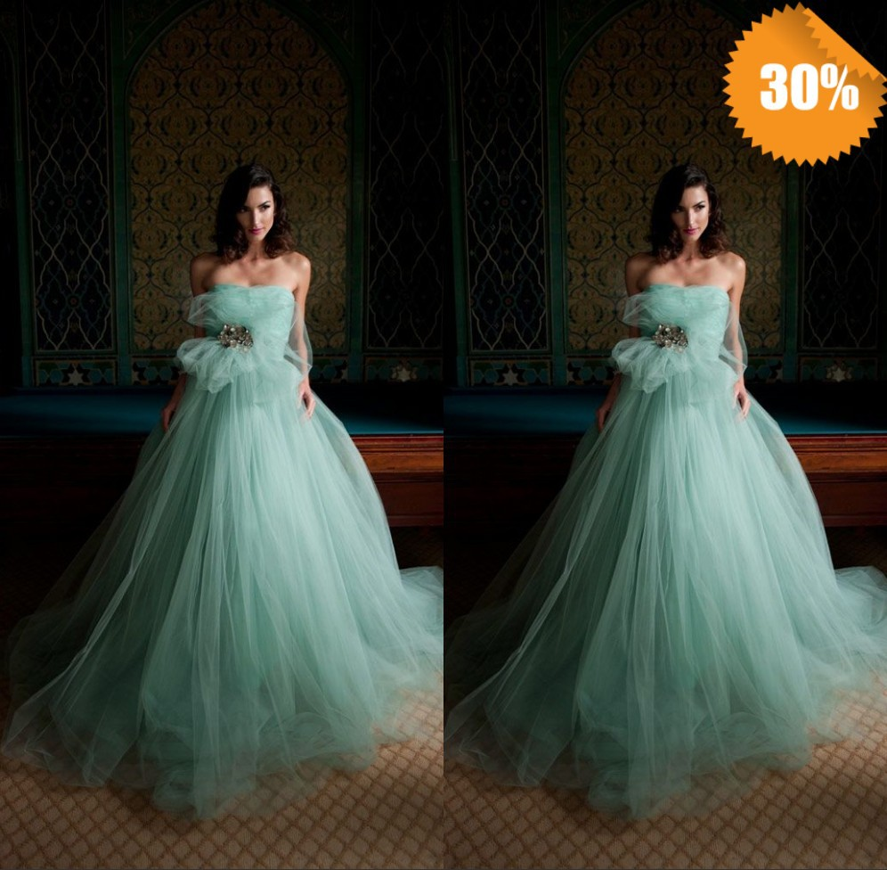 Wedding Dress Hot Selling 2015 New Sleeveless Ball Gown Floor length ...