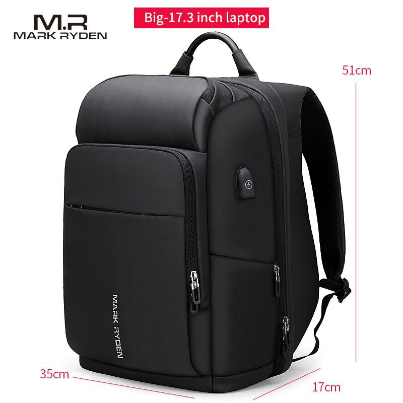 Мужской женский рюкзак из натуральной кожи, 15,6, противоугонная большая вместительность, Mochila, сумки на плечо для ноутбука, мужские сумки для ... - 4
