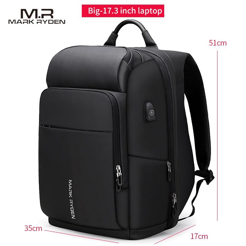 men's backpack waterproof bag Retro oil wax large capacity outdoor canvas bag backpack computer bag - 4