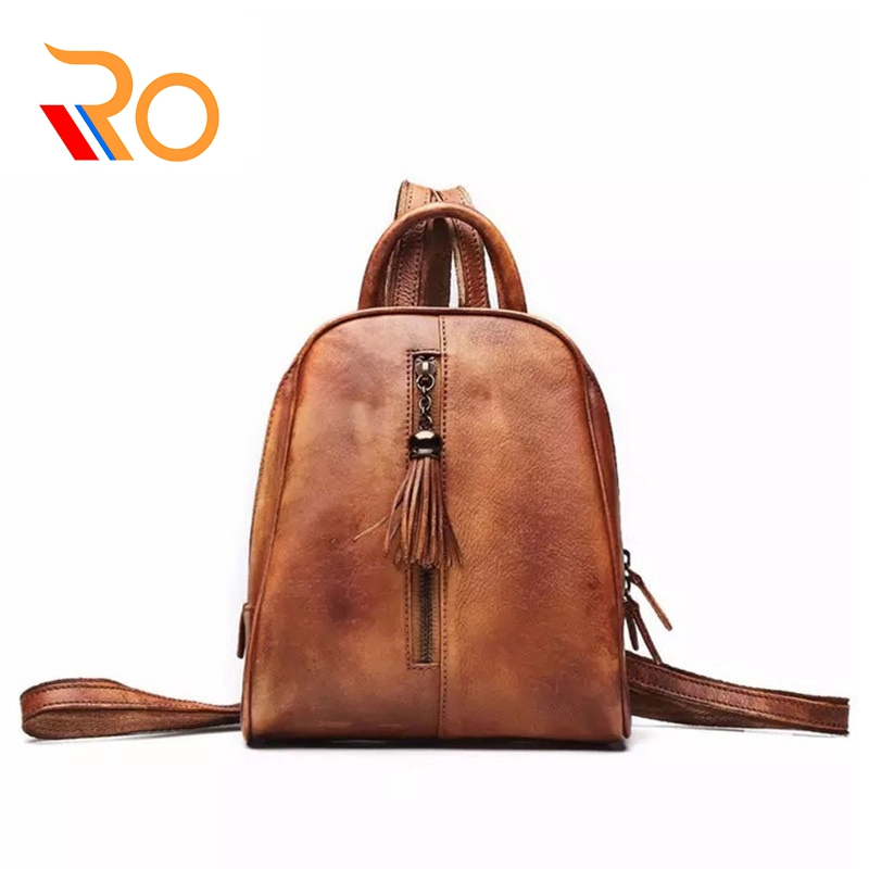2019 Small Genuine Leather Backpack Women Bags Tassel Shoulder Bags Teenage Girls Student Zipper Travel Bag2019 Small Genuine Leather Backpack Women Bags Tassel Shoulder Bags Teenage Girls Student Zipper Travel Bag