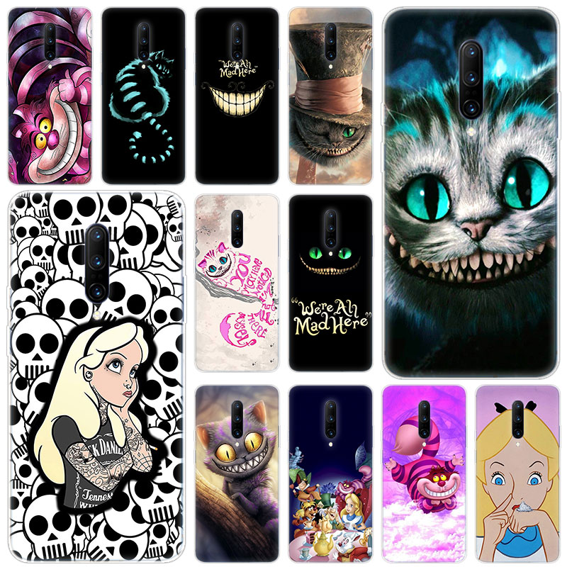 Hot Alice in Wonderland Soft Silicone Fashion Transparent Case For font b OnePlus b font font