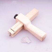 Деревянный кожаный режущий инструмент, кожаные инструменты для рукоделия